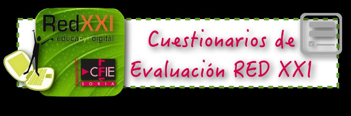 CUESTIONARIOS EVALUACIÓN RED XXI